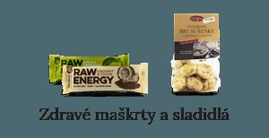 Zdravé maškrty a sladidlá