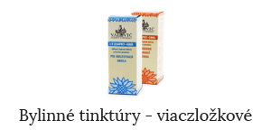 Bylinné tinktúry - viaczložkové