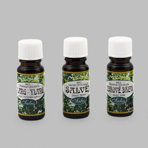 Jednodruhové éterické oleje Saloos